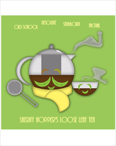 Sheriff Hopper's Loose Leaf Tea