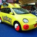 Produits dérivés Pokémon : voitures