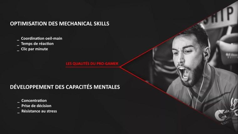 Skills joueur professionnel