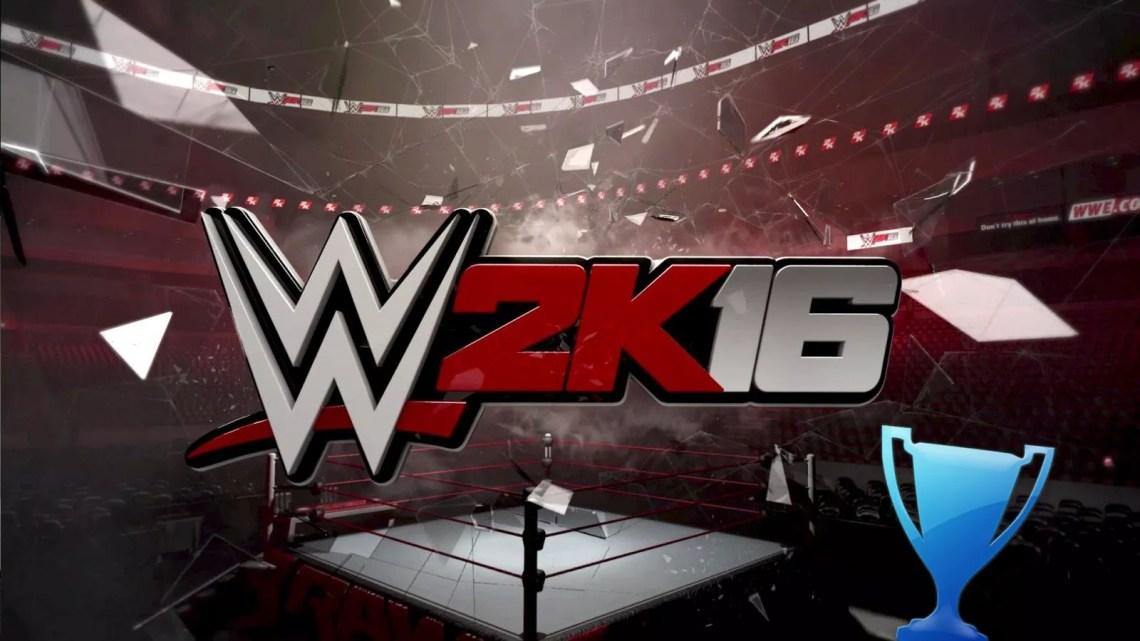 Trophée platine de WWE 2K16 (Je suis un gameur.com)