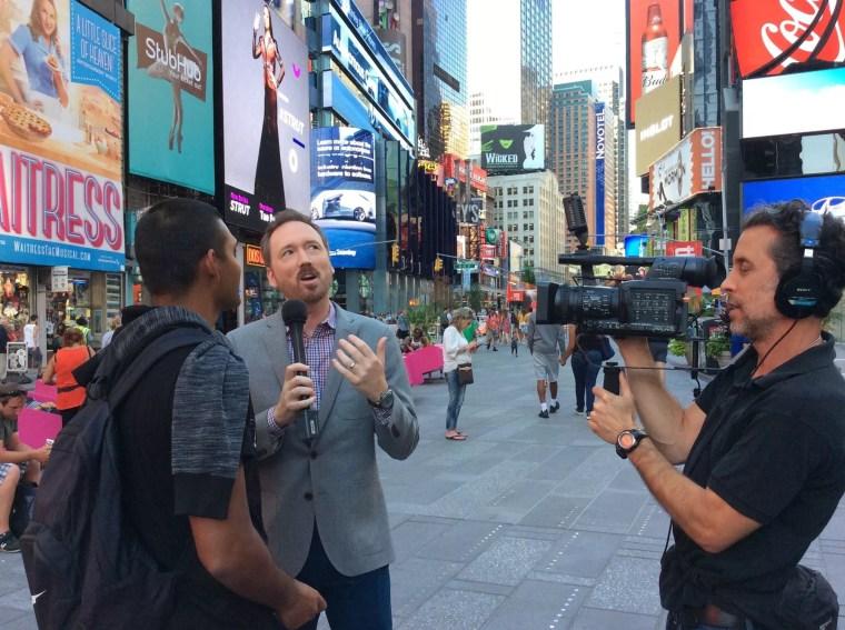 En Amérique du Nord, j'ai vécu des expériences géniales ! Je suis passé à la télévision américaine par exemple !