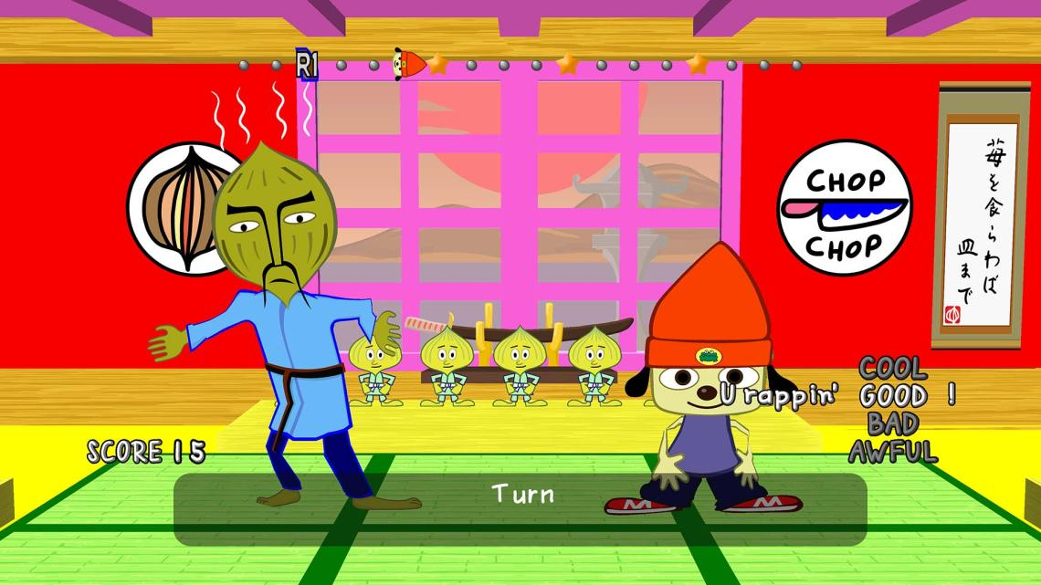 Test de Parappa The Rapper Remastered (PS4)