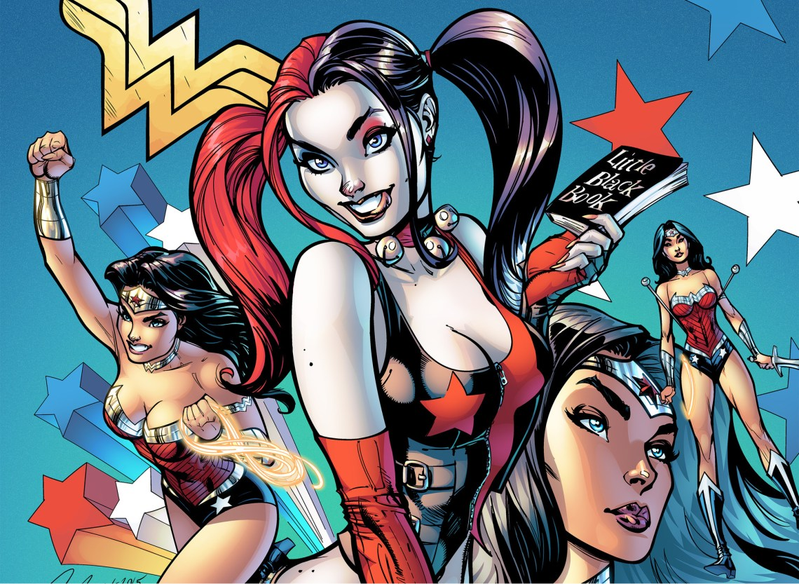 Jeu concours Wonder Woman & Harley Quinn