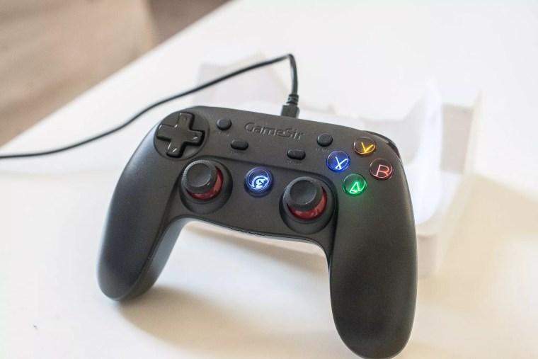 test de la manette sans fil GameSir G3s