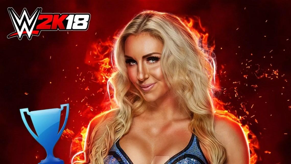 trophée platine WWE 2K18