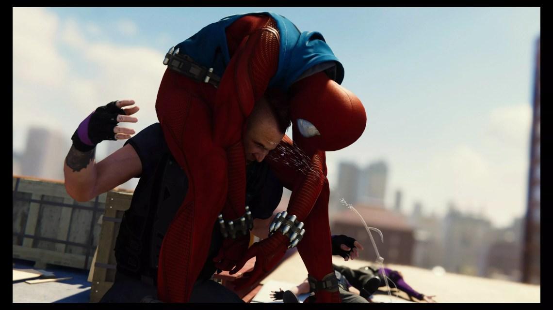 test de Spider-Man