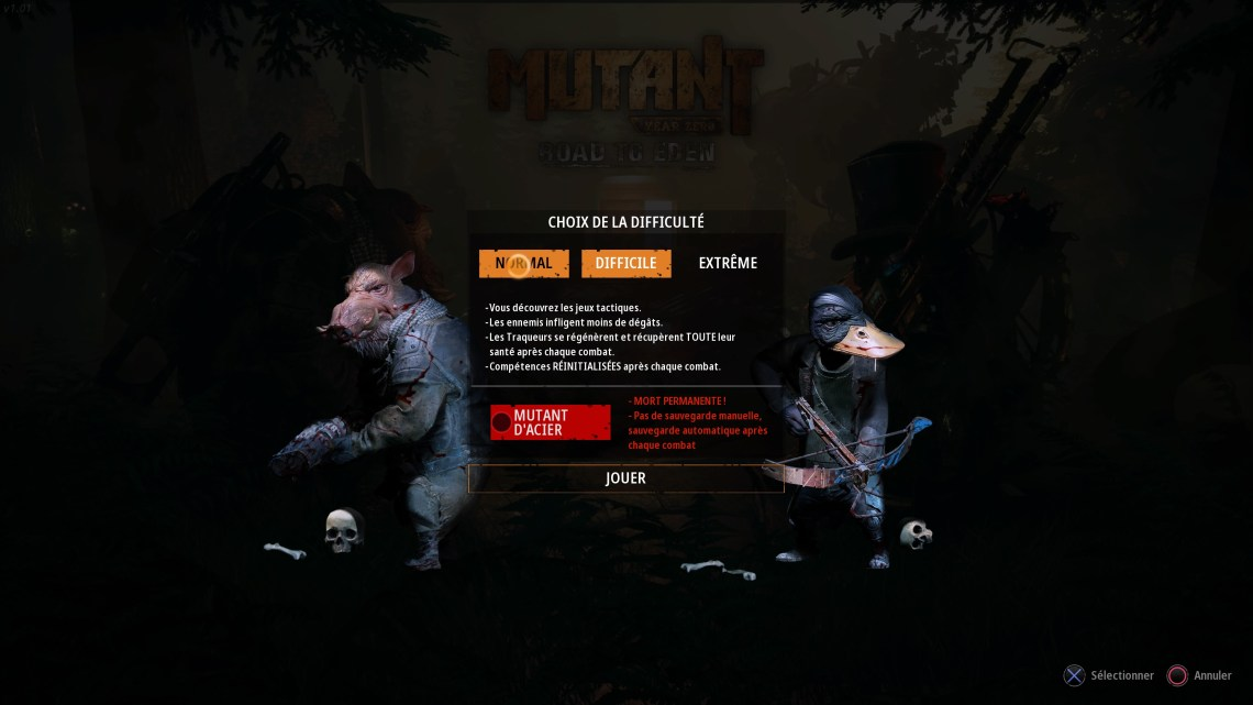 Test de Mutant Year Zero : Road to Eden