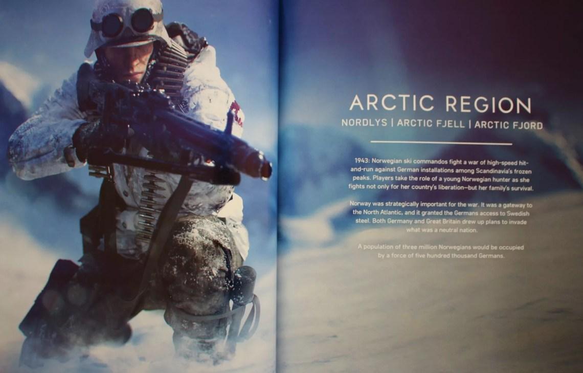 artbook de Battlefield 5