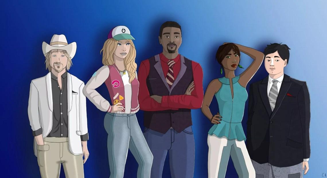 Série Sims 4 : Eric Lafleur