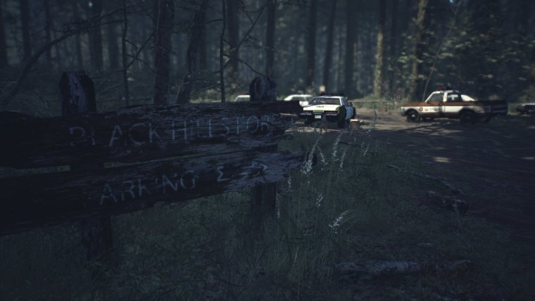 test de Blair Witch sur Xbox One X