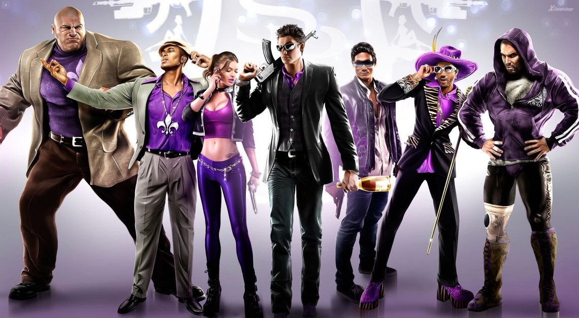 Personnages Saints Row IV
