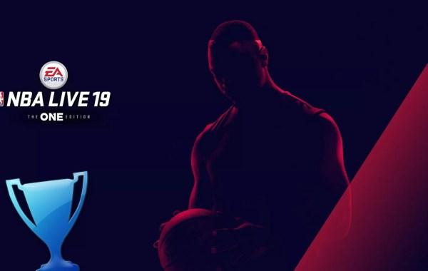 trophée platine NBA Live 19