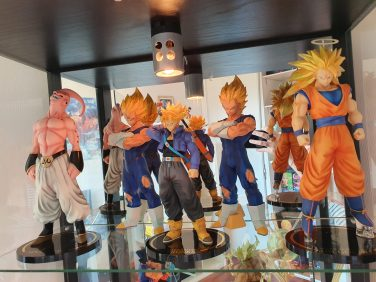 Des figurines Dragon Ball Z Banpresto de 17 centimètres
