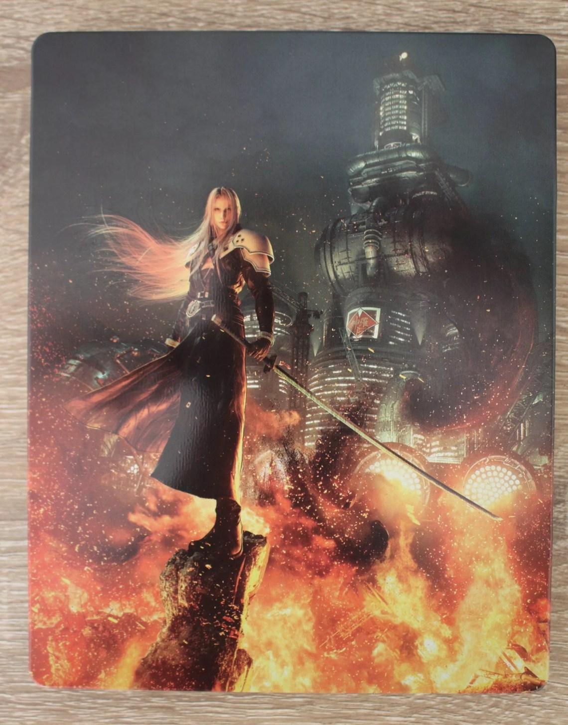steelbook de Sephiroth (Final Fantasy VII Remake)