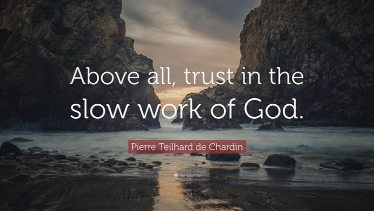 Pierre Teilhard de Chardin - Above All - 960x540