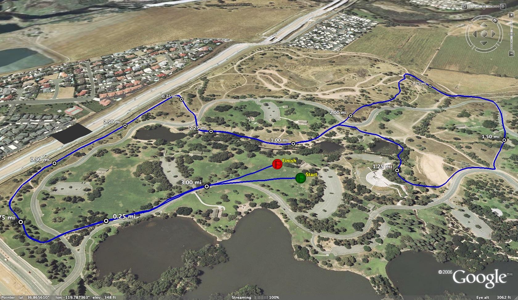 Van Cortlandt Park Running Map