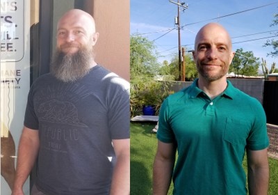 Brian Lost 40 Pounds in 8 Months!