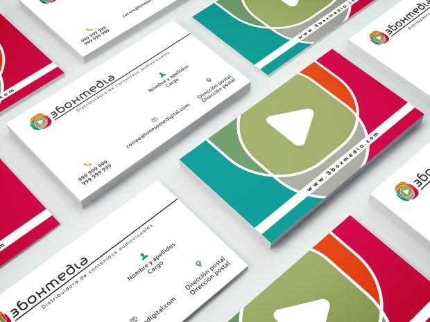 Diseño de la identidad corporativa de una nueva productora de contenidos audiovisuales.