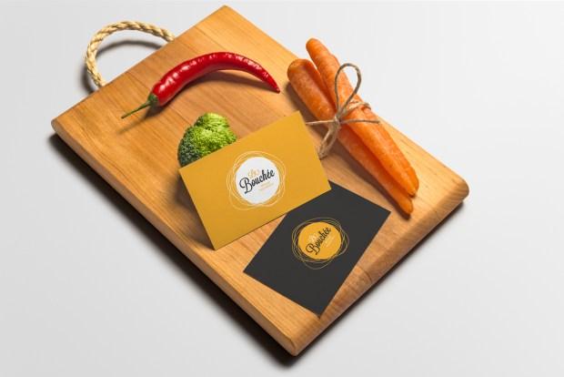 Diseño de la identidad corporativa de un restaurante.