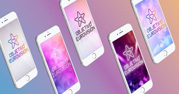 Logo para la gala de Objetivo Eurovisión para seleccionar al candidato que representa a España en el ESC