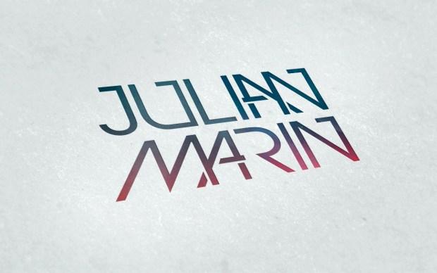 Diseño de la marca personal de un cantante.