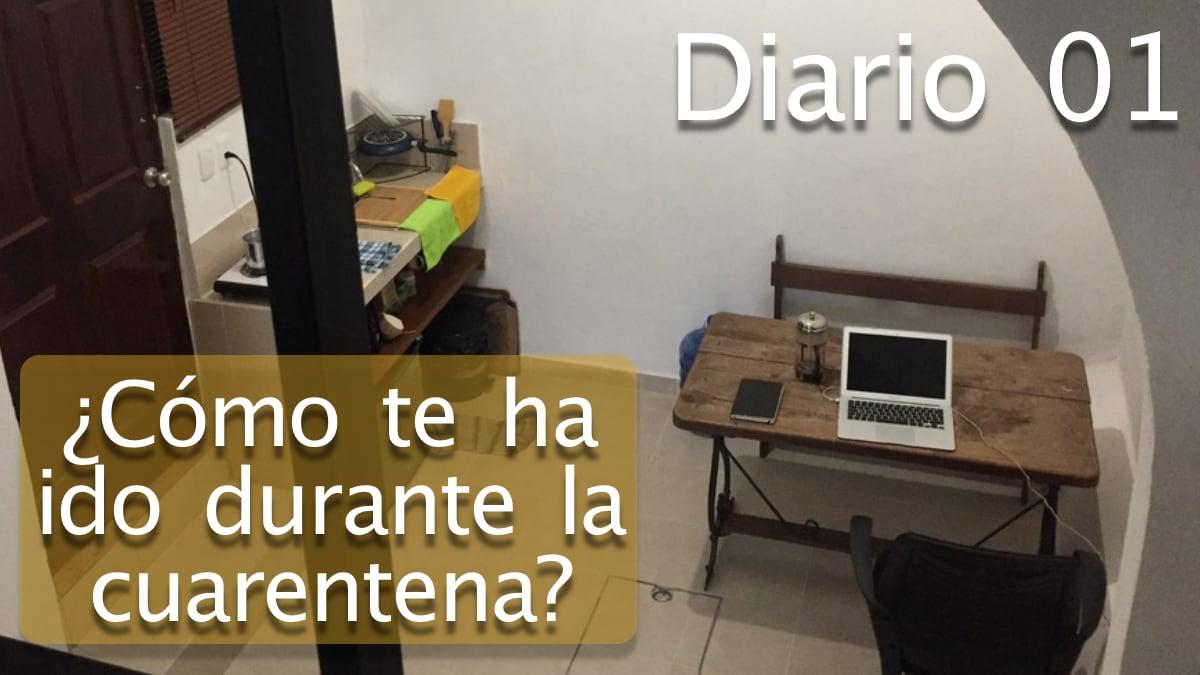 Diario: ¿Cómo te ha ido durante la cuarentena?