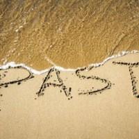 Dejando atrás el pasado.