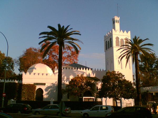 Pabellón Marroquí, sede del servicio de Parques y Jardines de Sevilla
