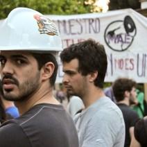 Protesta contra la LOMCE