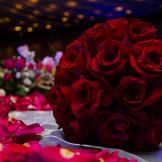 01 ramo de rosas roja