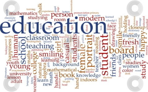 cutcaster-photo-100425837-Education-word-cloud