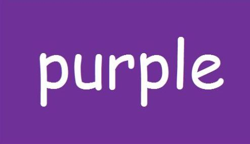 purple-word