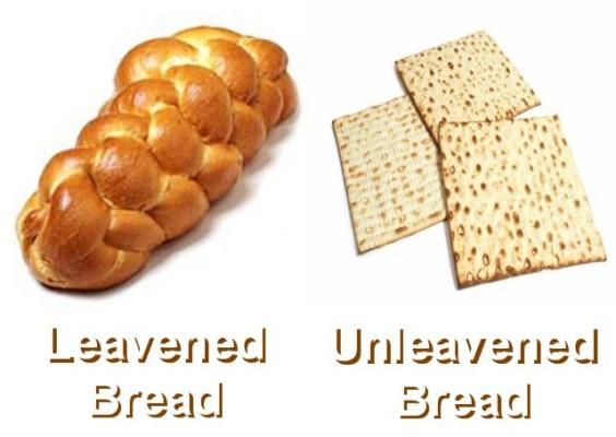 leavened-bread-vs-unleavened-bread