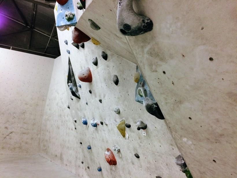 Fabryczna Boulder - ścianka wspinaczkowa, bouldering.