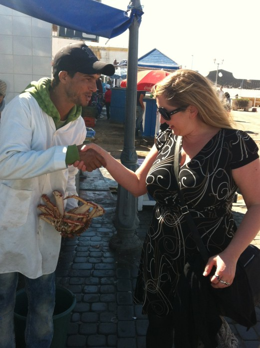 fishmonger, Essaouira, Morocco