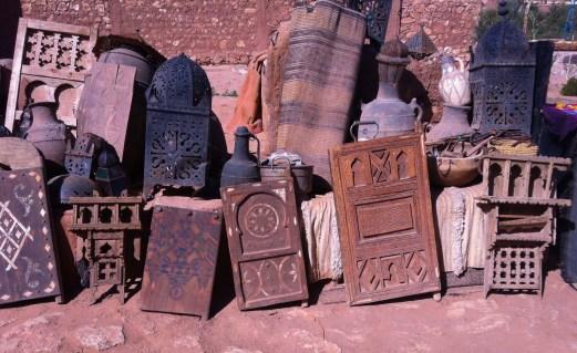 Aït Benhaddou lamps bricbrac