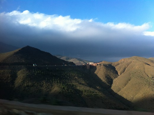 Atlas Mountains view 3