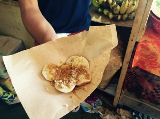Jambangan Cooking Class coconut pancake