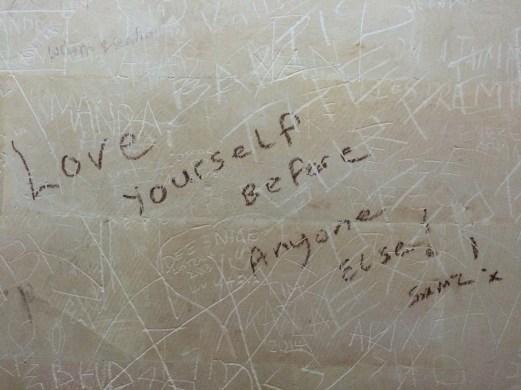Love Yourself slogan - ubud bali