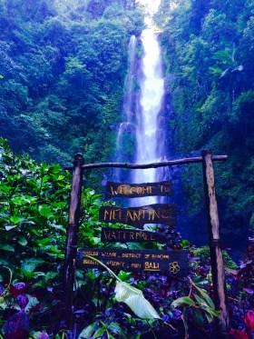waterfall Munduk Bali