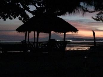 Gili air sunset