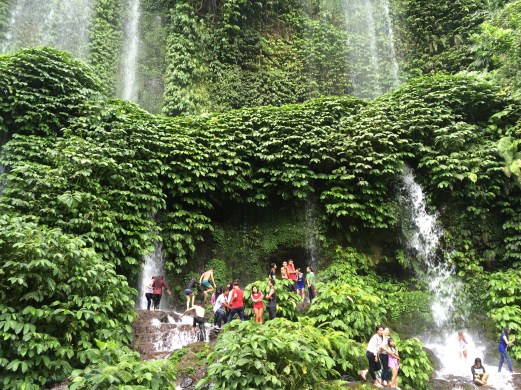 Sendang Gile waterfalls Lombok