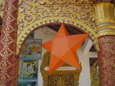 Luang Prabang temple decoration