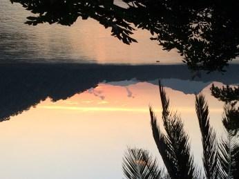 Luang Prabang sunset on the Mekong