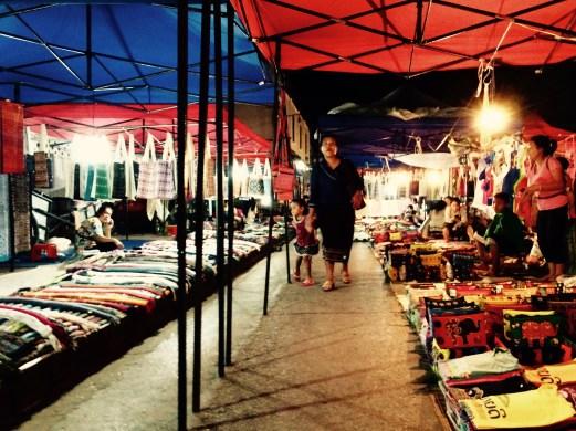 Luang Prabang night market