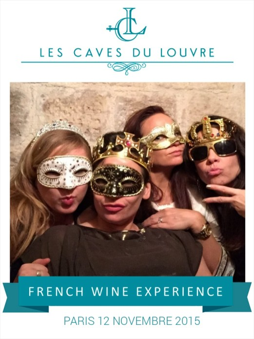 Caves du Louvre Photo booth