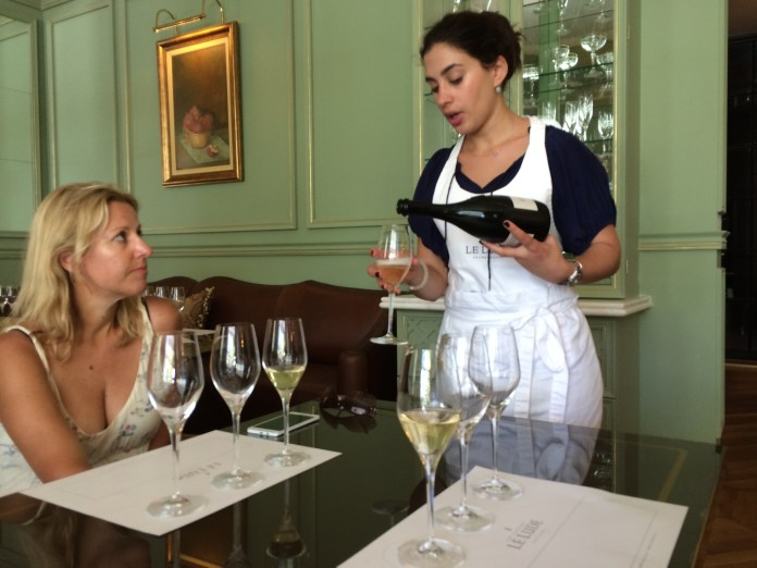Le Lude wine tasting with Kim Rabe