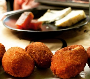 Ibiza Food Tours - croquettas and cheese