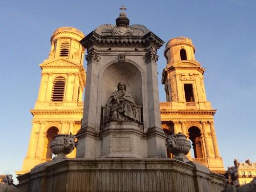 Saint Sulpice Church and Fountain Paris 75006