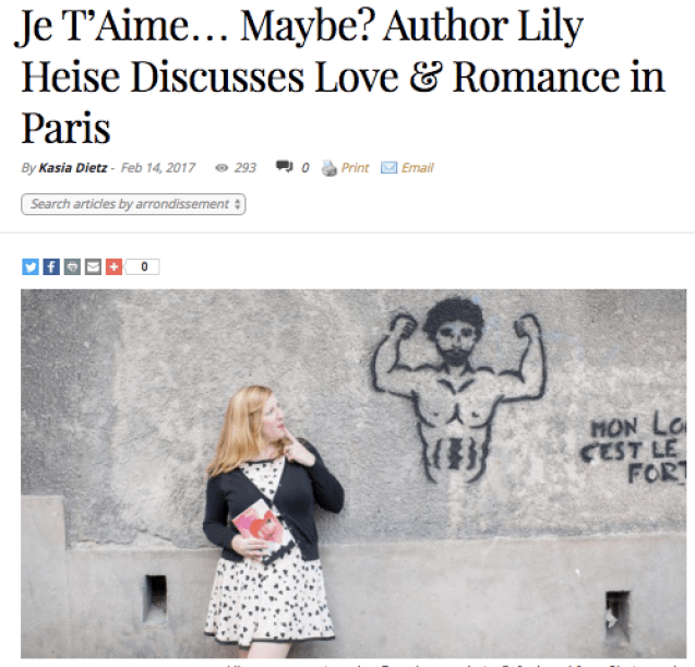 Lily Heise Bonjour Paris